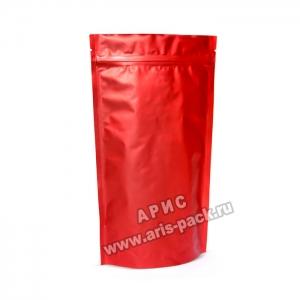 Пакет дой-пак Красный (матовый)