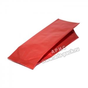 Пакет с центральным швом Красный (матовый)