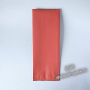 Пакет с центральным швом (тактильный лак) Оранжевый