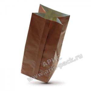 Пакет с центральным швом Коричневый (матовый)