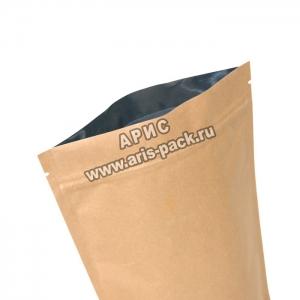 Пакет дой-пак Крафт-бумага