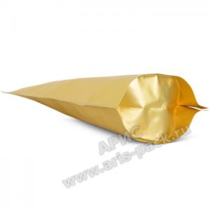 Пакет дой-пак Золото (матовый)