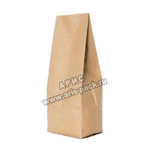 Пакет с центральным швом Крафт-бумага