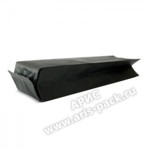 Пакет с центральным швом Черный (матовый)