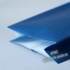Пакет с центральным швом (тактильный лак) Синий
