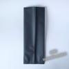 Пакет с центральным швом (тактильный лак) Черный