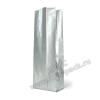 Пакет с центральным швом Серебристый (глянец)